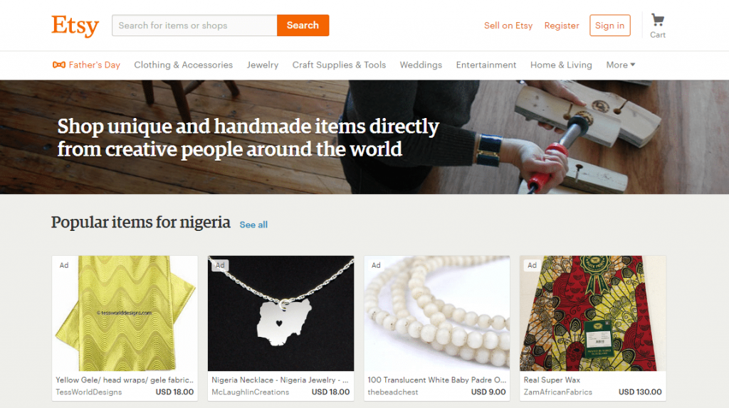 how to make money on etsy nigeria 1024x574 - How To Make Money Online In Nigeria 2019