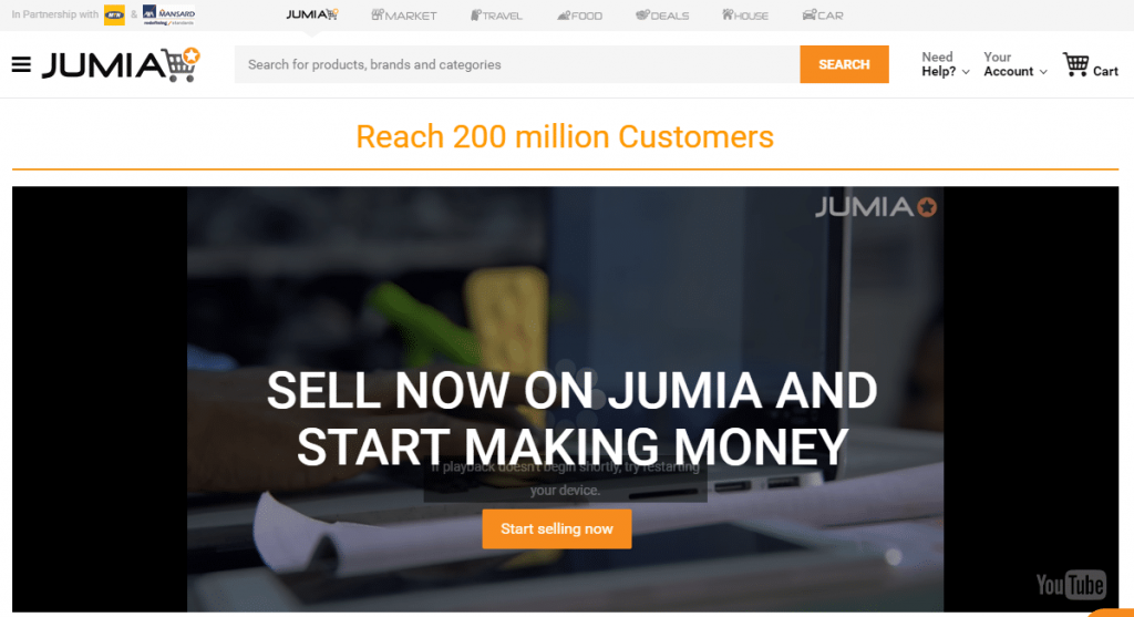 make money selling on jumia 1024x557 - How To Make Money Online In Nigeria 2019