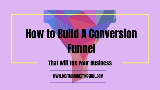 Conversion funnel article