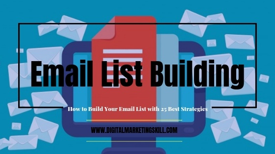 how to grow email list